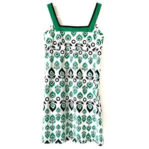 Wishes Wishes Wishes Abstract Floral Print Dress M